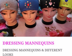 "LEARN HOW TO DRESS ""MANNEQUINS"" WITH DIFFERENT STYLES"