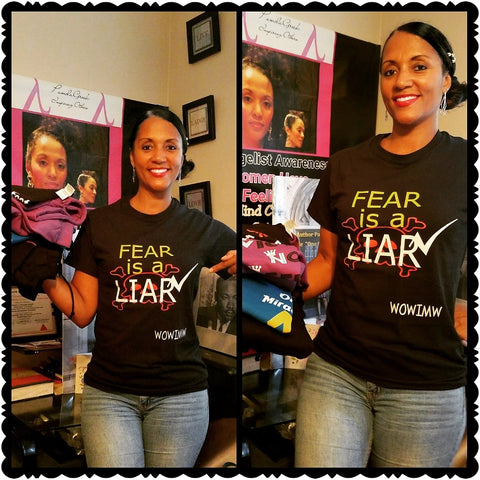 Fear is a LIAR 👇Shop Below👇