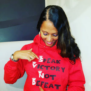 Speak Victory Not Defeat 👇Shop Below👇