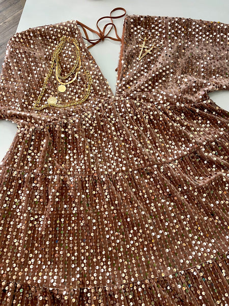 Sequins Love Dress