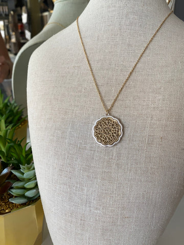 Filigree Pendant Necklaces