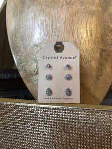 Crystal Stud Set