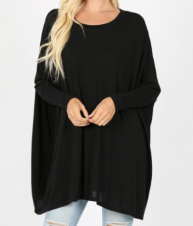 Oversized Poncho Sweaters
