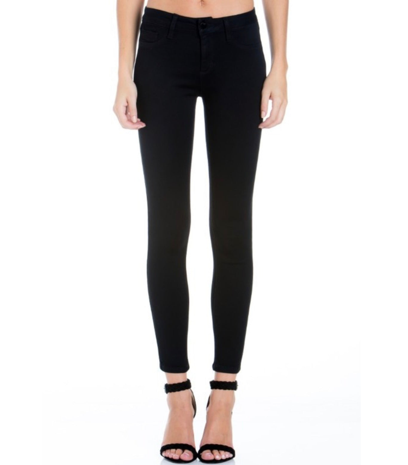 Black Flex Skinny Denim