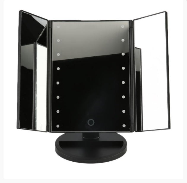 "Be the ""Fairest One of All"" with the GizmoStars LED Cosmetic Vanity Mirror"