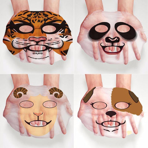 Image of Cute Animal Nourishing Face Mask -  - Gizmostars