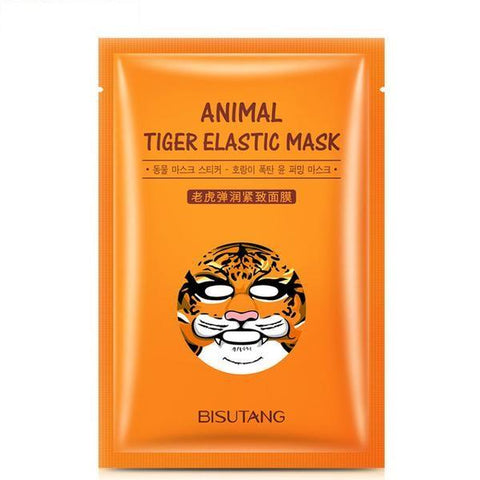 Image of Cute Animal Nourishing Face Mask - Tiger - Gizmostars