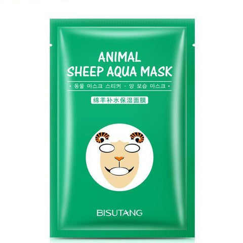 Image of Cute Animal Nourishing Face Mask - Sheep - Gizmostars