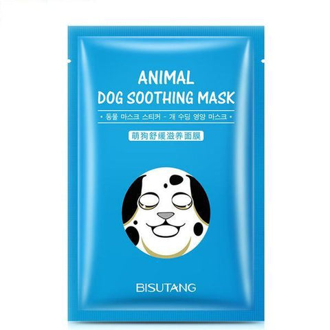 Cute Animal Nourishing Face Mask - Dog - Gizmostars
