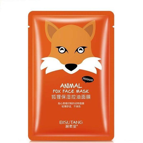 Image of Cute Animal Nourishing Face Mask - Fox - Gizmostars