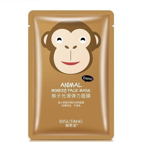 Cute Animal Nourishing Face Mask - Monkey - Gizmostars