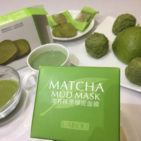 Deep Cleansing MATCHA Mud Mask Cream