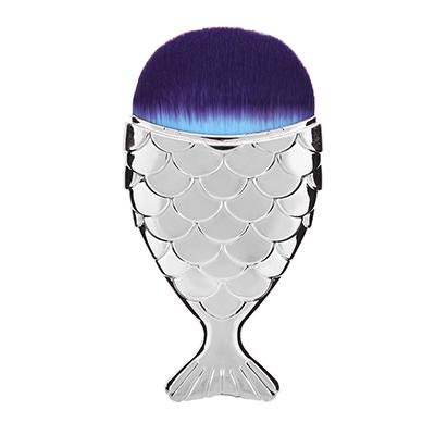 Dwarf Mermaid Makeup Brush - BlueSilver - Gizmostars