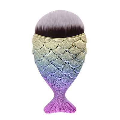 Dwarf Mermaid Makeup Brush - BlackMulti - Gizmostars