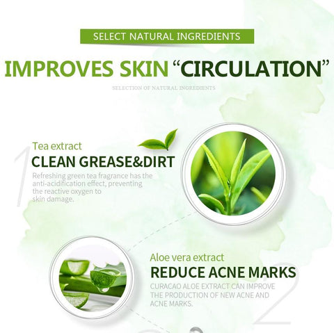 Image of Green Tea Clear Facial Cleanser -  - Gizmostars