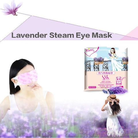 Hot Steam SPA Eye Mask - Lavender - Gizmostars