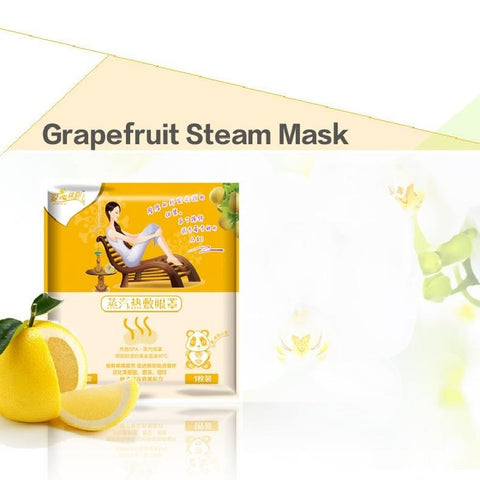 Hot Steam SPA Eye Mask - Grapefruit - Gizmostars