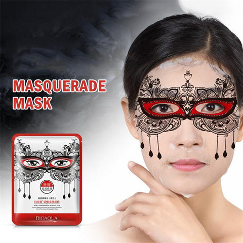 Image of Masquerade Moisturizing Facial Mask - Black - Gizmostars