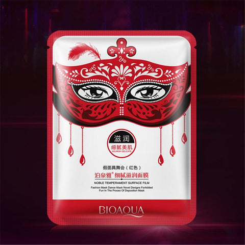 Masquerade Moisturizing Facial Mask - Red - Gizmostars