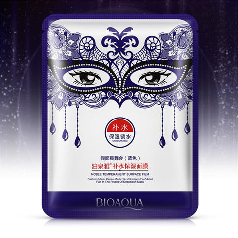 Image of Masquerade Moisturizing Facial Mask - Blue - Gizmostars