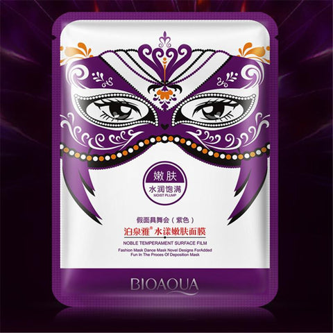 Masquerade Moisturizing Facial Mask - Purple - Gizmostars