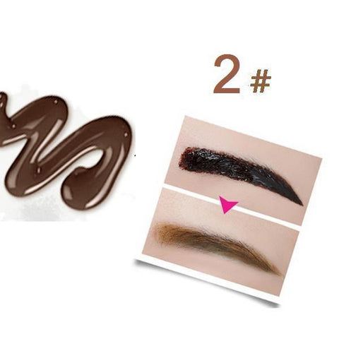 Waterproof Peel Off Eyebrow Tattoo - 2 Light Brown - Gizmostars