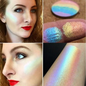 Waterproof Rainbow Highlighter Palette -  - Gizmostars