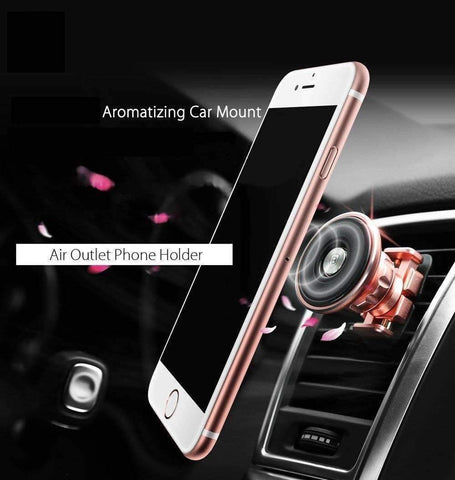 Aromatherapy Car Magnet Phone Holder -  - Gizmostars