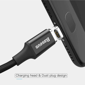 Lightning, Tangle Proof Magnetic USB Fast Charge Cable
