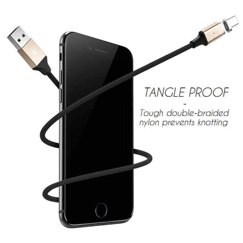 Image of Lightning, Tangle Proof Magnetic USB Fast Charge Cable -  - Gizmostars