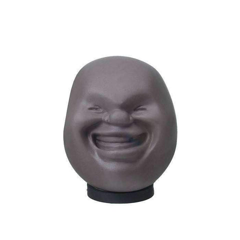 Emotional Stress Ball Face - Black / Mr Creepy - Gizmostars