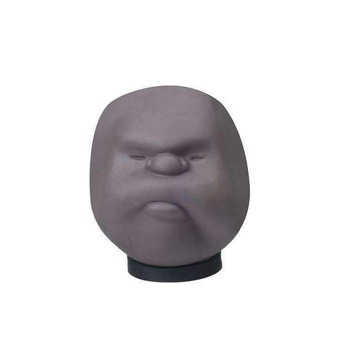 Emotional Stress Ball Face - Black / Mr Grumpy - Gizmostars