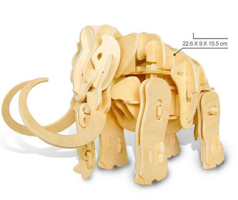RC Controlled 3D Dinosaur Puzzle - Mammoth / Sound Control - Gizmostars
