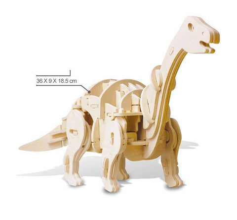 RC Controlled 3D Dinosaur Puzzle - Apatosaurus / Sound Control - Gizmostars