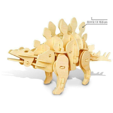 Image of RC Controlled 3D Dinosaur Puzzle - Stegosaurus / Sound Control - Gizmostars