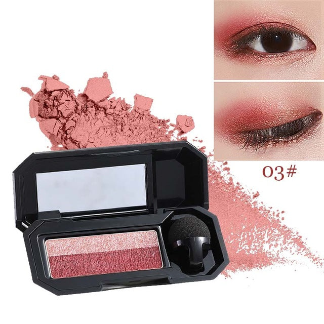 Two-tone Eyeshadow