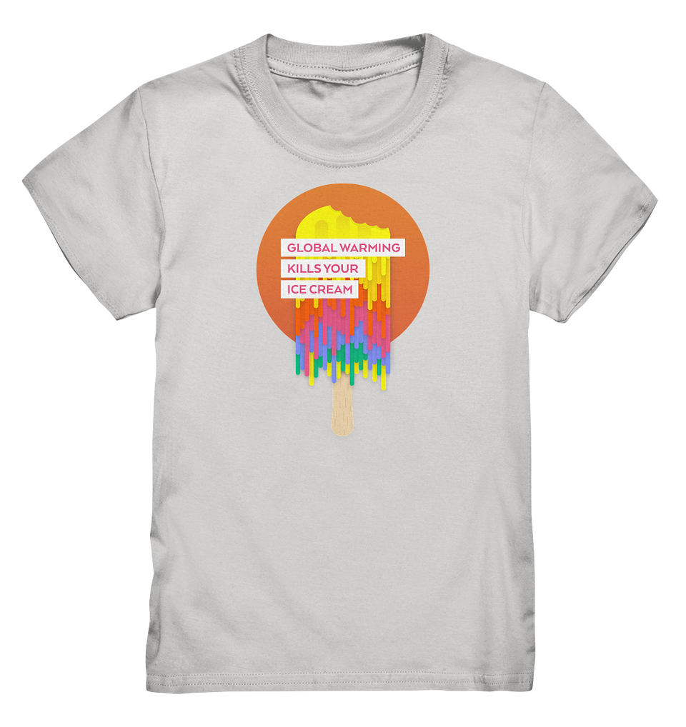 Warm Ice Cream - Kids Shirt