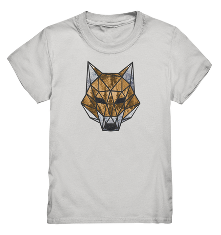 Polygon Fox - Kids Shirt