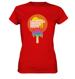 Warm Ice Cream - Ladies Shirt