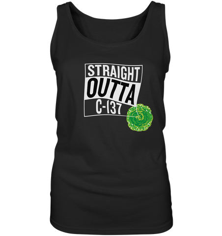 Straight Outta C-137 - Ladies Tank-Top
