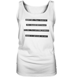 Mind yourself - Ladies Tank-Top