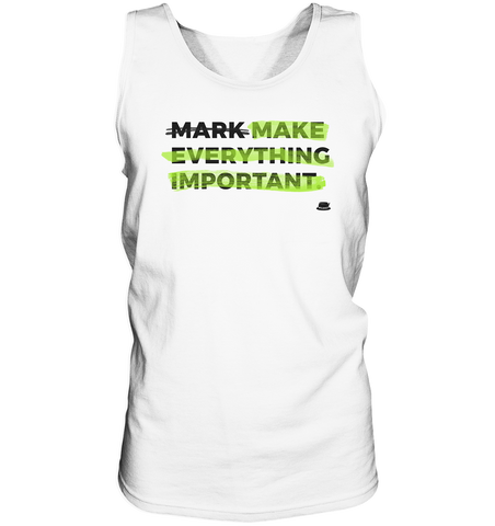 Importance - Tank-Top
