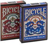 Red and Blue Dragon Playing Cards - 2 packs