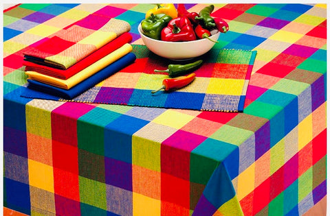 Chiclet Tablecloth