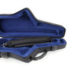 Alto Saxophone case model JW-51092 in Grey / Blue colors