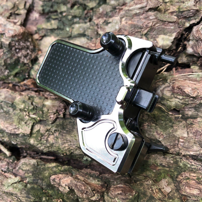 Mojoslider - Black Nickel w/Black side plates