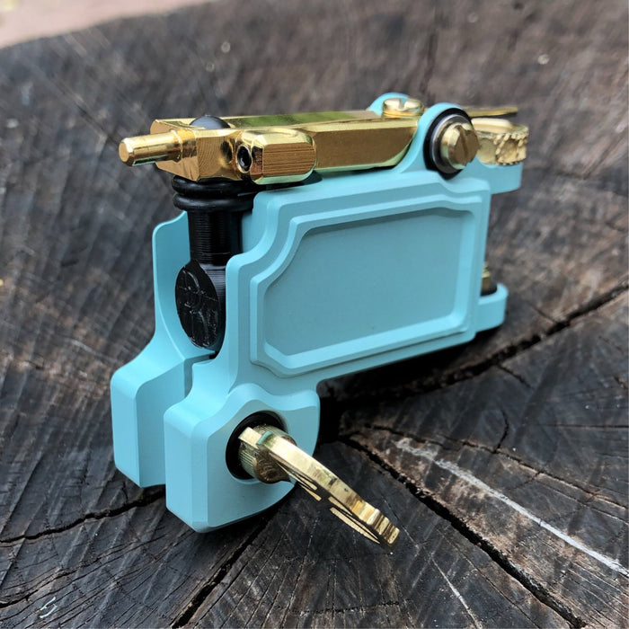 Mojobox V2- Robin Egg Blue & Gold
