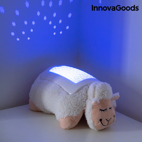 InnovaGoods Plush Toy Projector Sheep