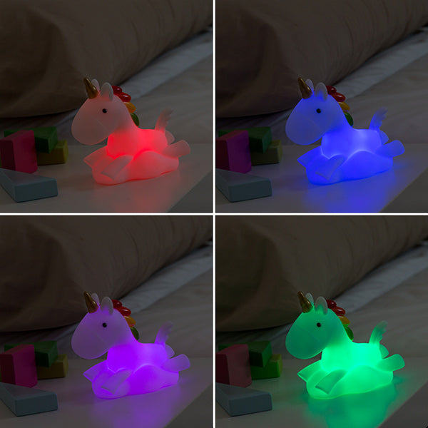 Veilleuse Licorne LED Multicolore Junior Knows