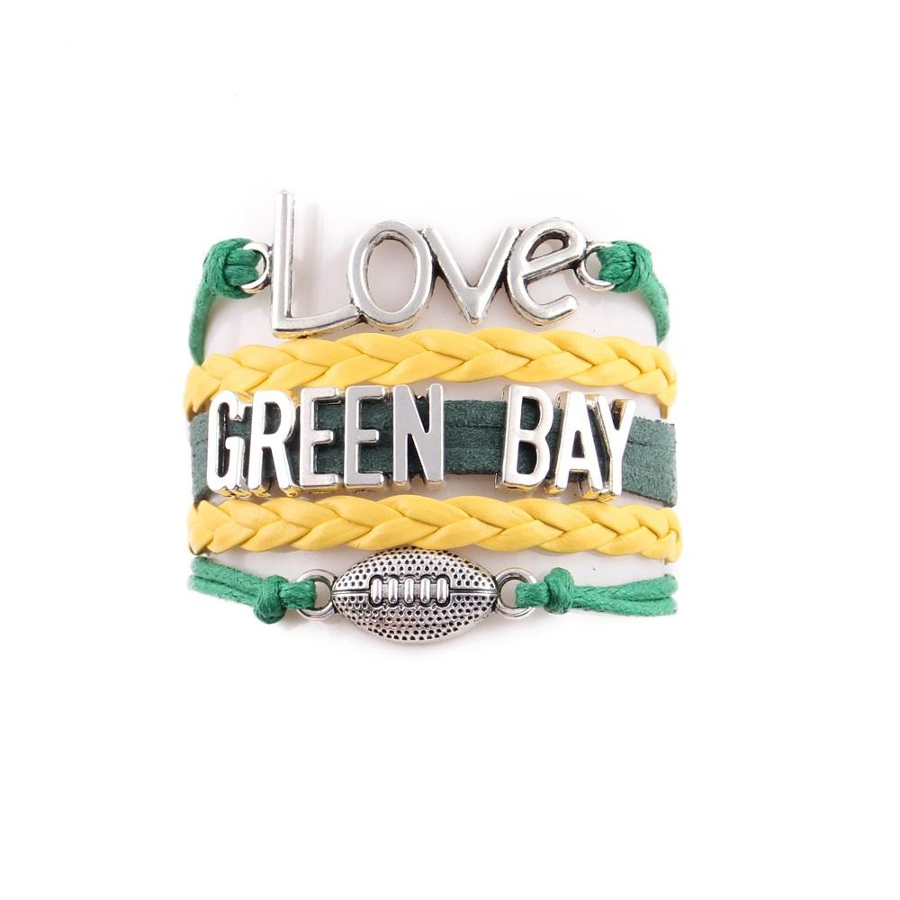 GB Packers Bracelet